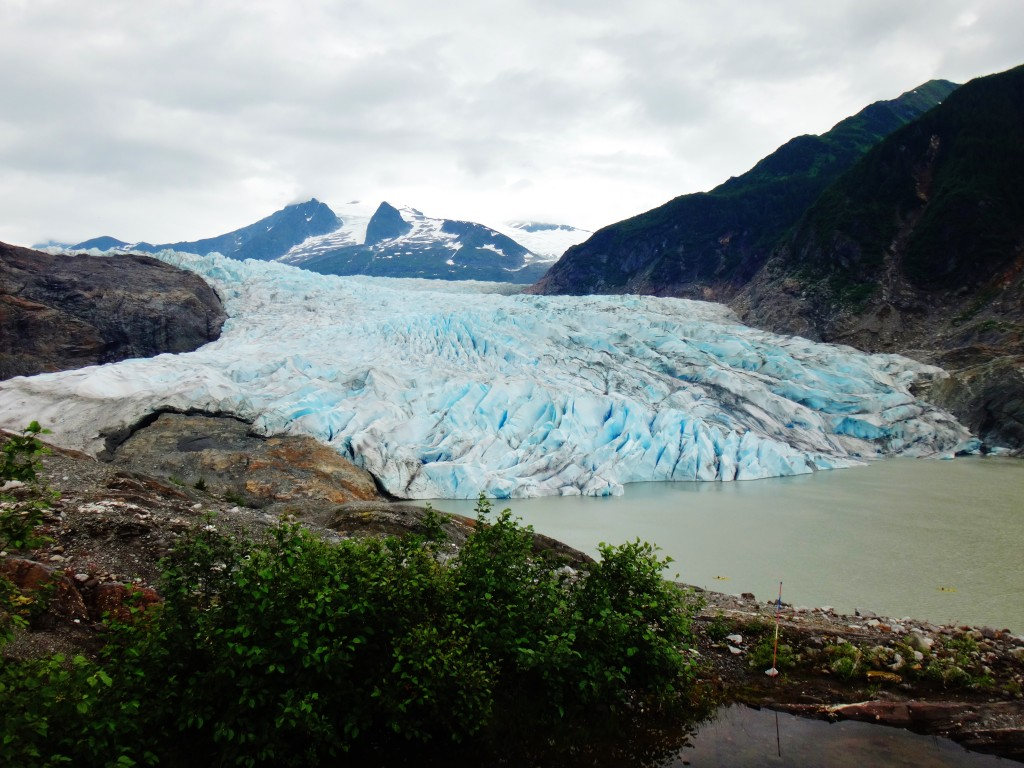 Live Life Out of Office - Mendenhall Glacier